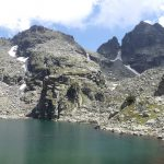 Scary Lake with the peak Popova Kapa