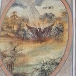 Frescoes of the rising phoenix