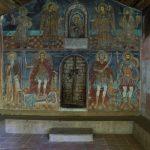 The graveyard church in Rila monastery