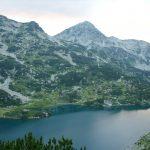 The Fish lake, a part from the Glacier Bunderishki lakes