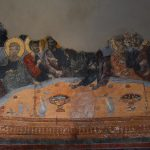 The Last Supper in the old refectory in Rozhen monastery
