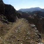 The trail after Dragovski stone peak