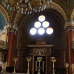 The central chamber of the synagogue