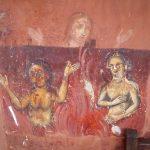 Frescoes in the pronaos of the main church